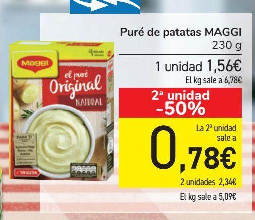 Oferta de Puré de patatas MAGGI por 1,56€
