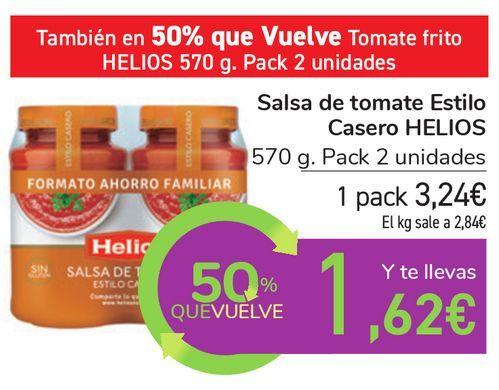 Oferta de Salsa de tomate Estilo Casero HELIOS  por 3,24€