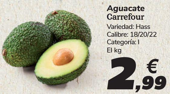Oferta de Aguacate Carrefour  por 2,99€