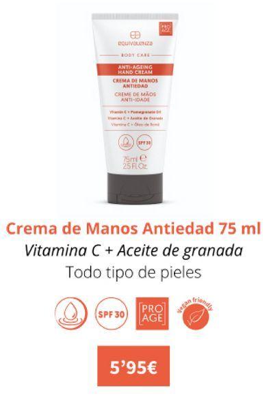 Oferta de Crema de manos antiedad 75ml por 5,95€