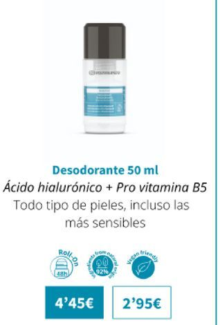 Oferta de Desodorante 50ml por 4,45€