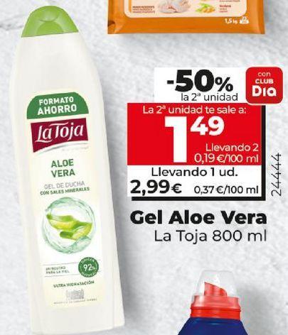 Oferta de Gel aloe vera por 2,99€