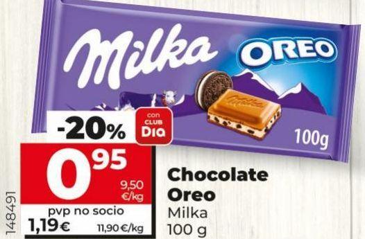 Oferta de Chocolate Milka por 0,95€