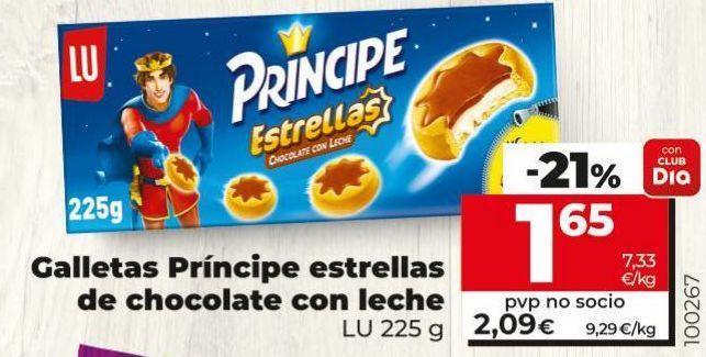 Oferta de Galletas Príncipe por 1,65€