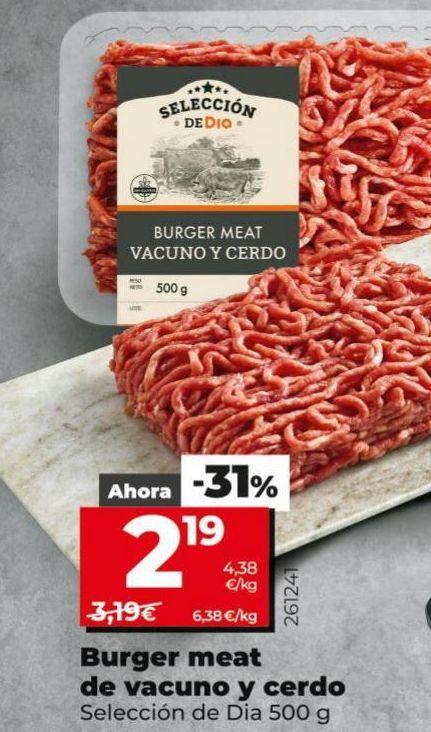 Oferta de Carne picada por 2,19€