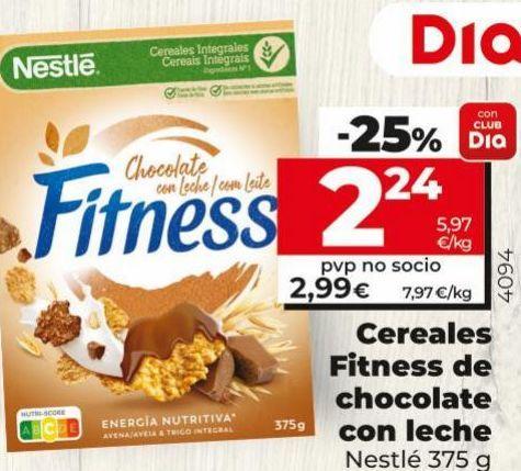 Oferta de Cereales fitness por 2,24€