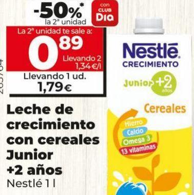 Oferta de Leche de crecimiento Nestlé por 1,79€