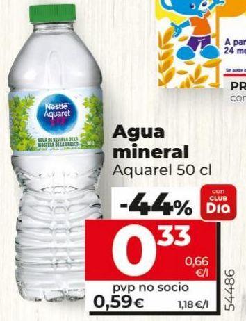 Oferta de Agua Aquarel por 0,33€