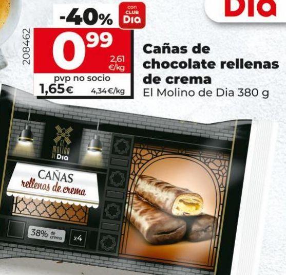 Oferta de Bollería Dia por 0,99€