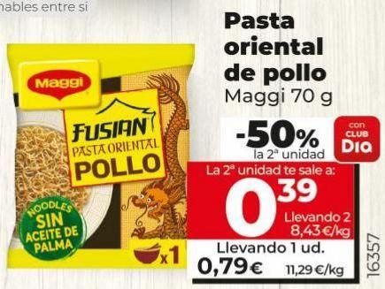 Oferta de Pasta oriental Maggi por 0,79€