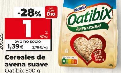 Oferta de Cereales Weetabix por 1€