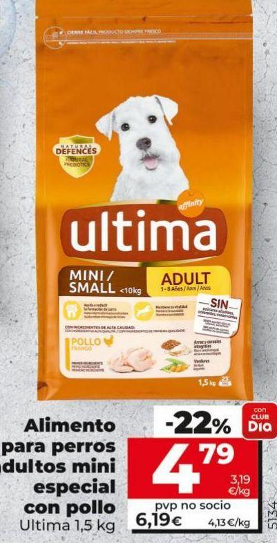 Oferta de Comida para perros Última por 4,79€