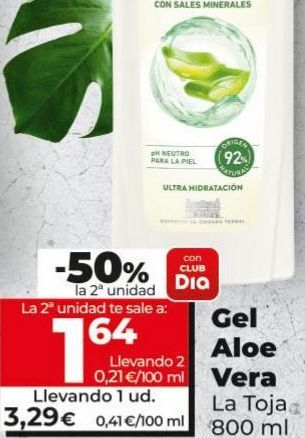 Oferta de Gel La Toja por 3,29€