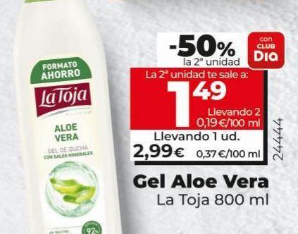 Oferta de Gel La Toja por 2,99€