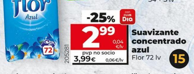 Oferta de Suavizante concentrado   Flor por 2,99€