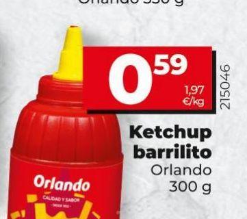 Oferta de Ketchup Orlando por 0,59€