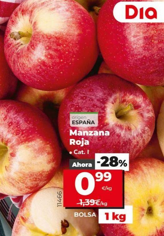 Oferta de Manzanas roja por 0,99€