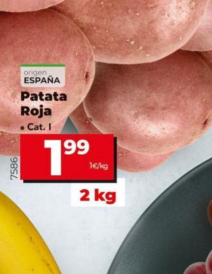 Oferta de Patatas por 1,99€