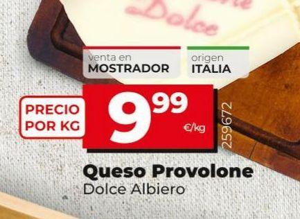 Oferta de Queso provolone Dolce Albiero  por 9,99€