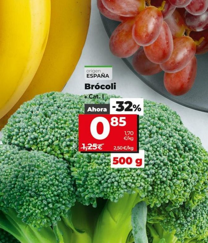 Oferta de Brócoli por 0,85€