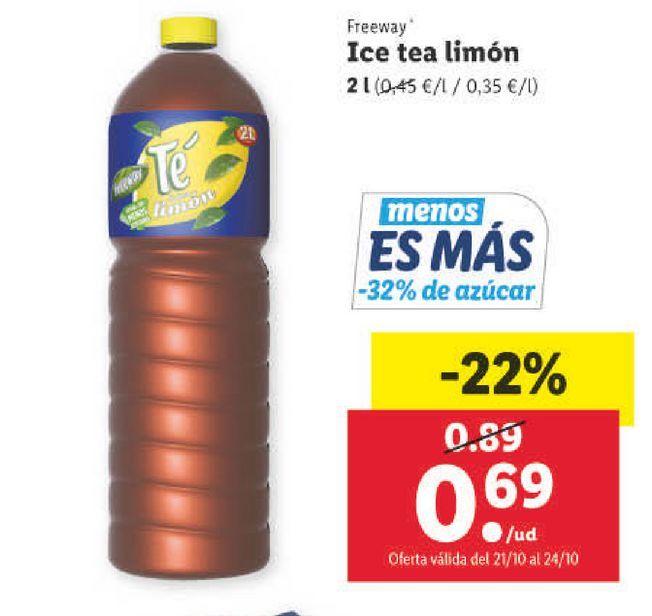 Oferta de Té helado por 0,69€