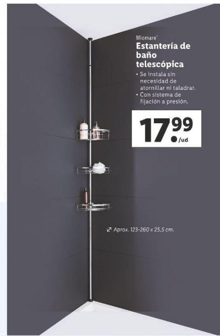 Oferta de Estantería de baño por 17,99€