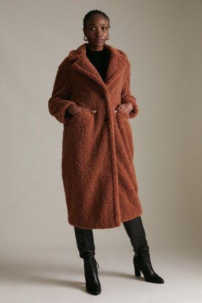Oferta de Longline Borg Coat por 156€