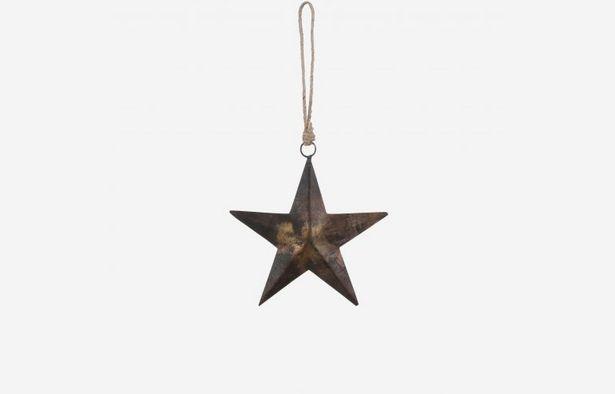 Oferta de Estrella de Navidad óxido por 4,79€