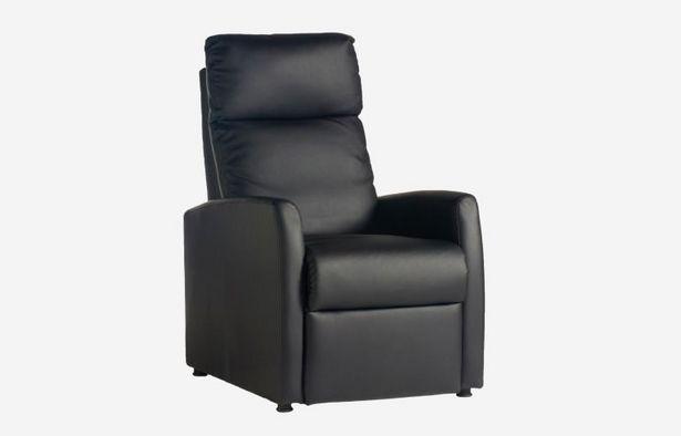 Oferta de Butaca relax Jet negro por 199€