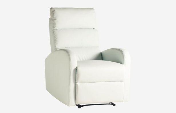 Oferta de Butaca relax Soft blanco por 289€
