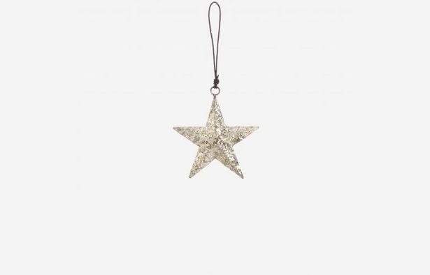 Oferta de Estrella de navidad plata por 7,79€