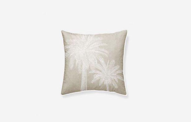 Oferta de Cojín algodón Tropical 45x45 cm por 19,79€