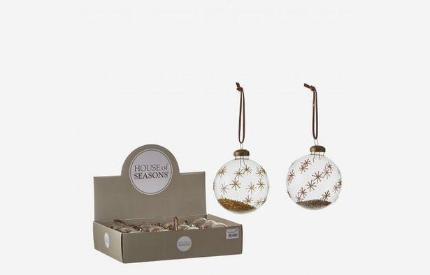 Oferta de Bola de Navidad dorada por 4,75€