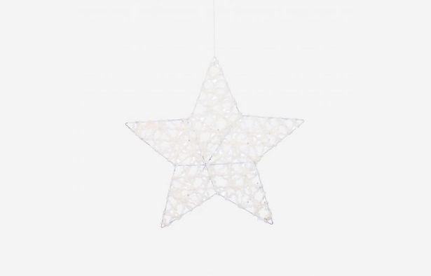 Oferta de Estrella de Navidad grande por 5,75€