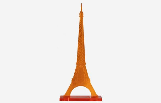 Oferta de Torre Eiffel naranja por 21€