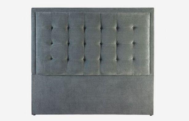 Oferta de Cabecero 150 cm Cool gris oscuro por 449,1€