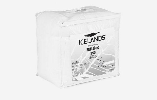 Oferta de Edredón báltico 240x220 blanco por 38,79€