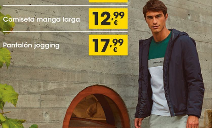 Oferta de Camiseta manga larga por 12,99€