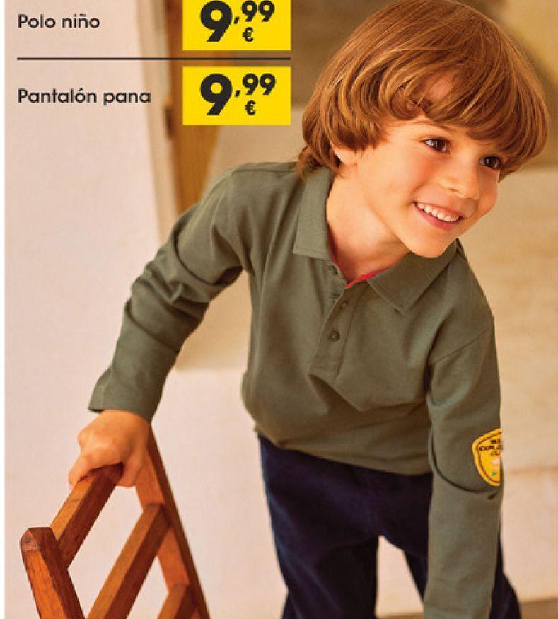 Oferta de Pantalones de pana por 9,99€