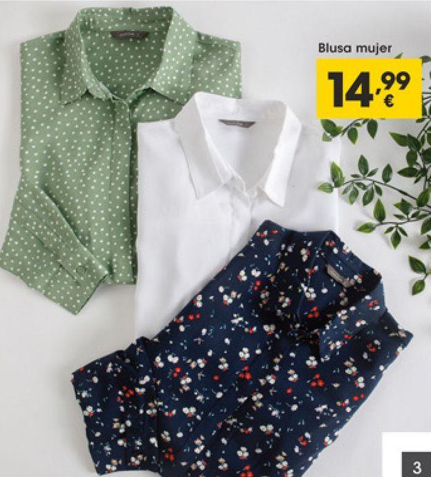 Oferta de Blusa mujer por 14,99€