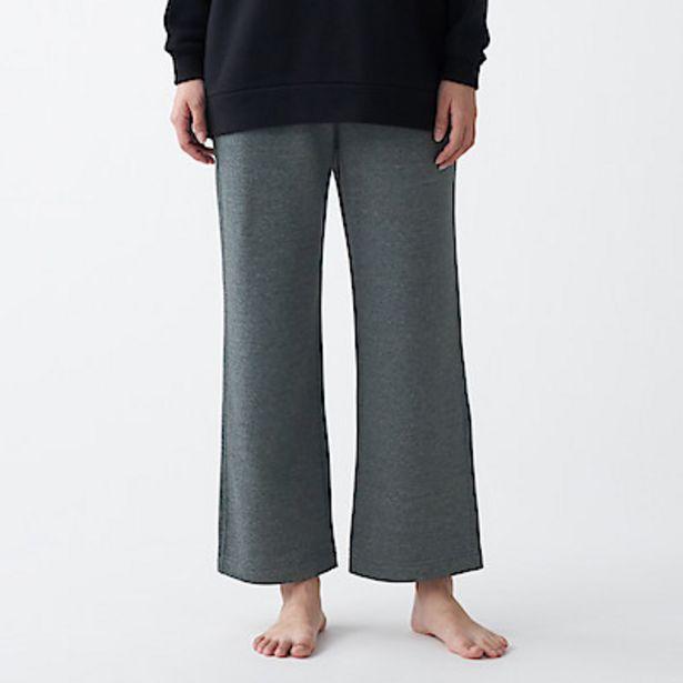 Oferta de Pantalones anchos de felpa francesa por 34,95€