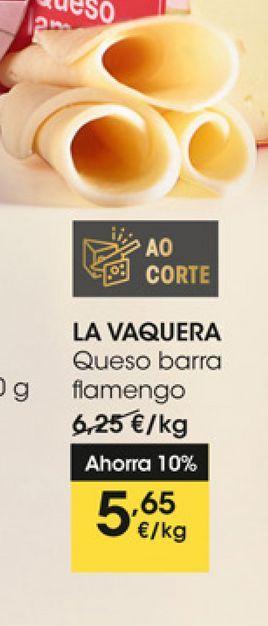 Oferta de Queso de barra flamengo LA VAQUERA por 5,65€