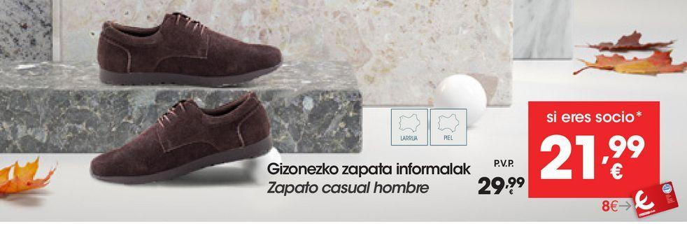 Oferta de Zapato casual  hombre por 29,99€