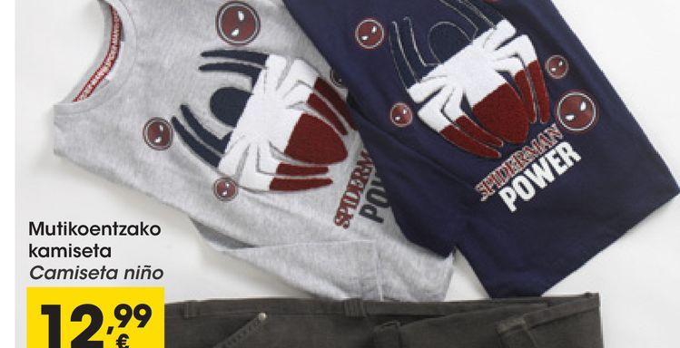 Oferta de Camiseta niño por 12,99€