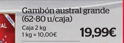 Oferta de Gambas por 19,99€