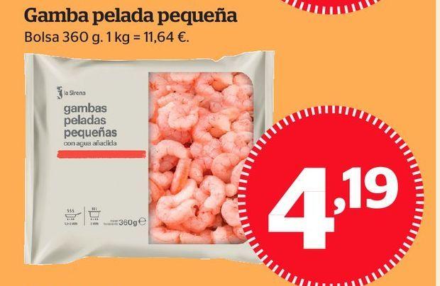 Oferta de Gambas peladas por 3,99€