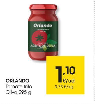 Oferta de Tomate frito 295 g ORLANDO por 1,1€