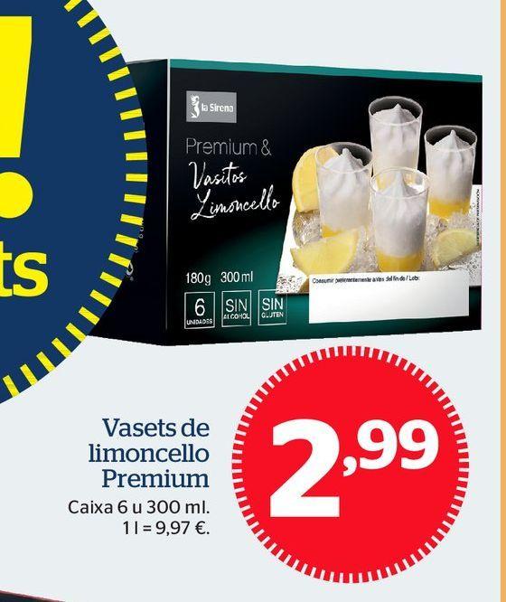 Oferta de Postres por 2,99€