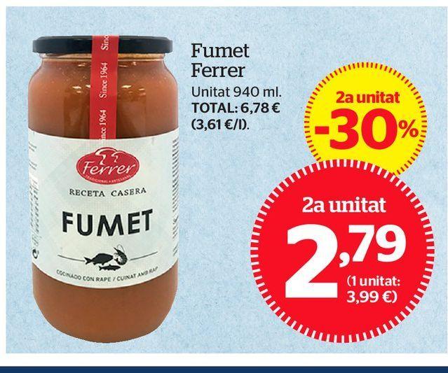 Oferta de Caldo de pescado por 2,79€