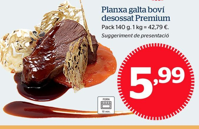 Oferta de Platos preparados por 5,99€